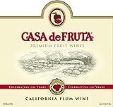 2014 Casa de Fruit Santa Rosa Plum 750 Ml