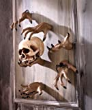 """Ceramic Halloween Party Grabbing Hand Wall Decoration Approx. 8-1/2"""" X 5-1/2"""" X 2-7/8"""""""