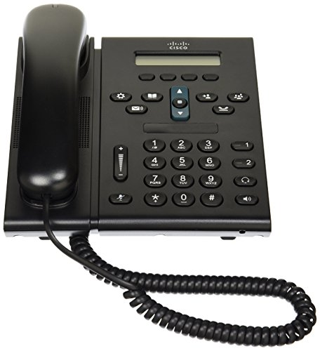 (Cisco 6921 Unified IP Phone CP-6921-CL-K9=  Slimline Handset, POE, Power Supply Not Included, Communications Manager Required)