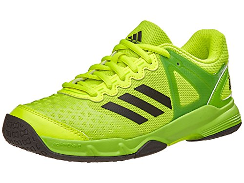 Adidas Court Stabil Juniors Handball Shoe 5 Solar Yellow-Black-Solar Green