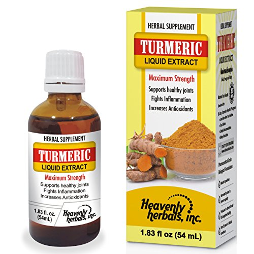 - Turmeric Liquid Extract Drops – All Natural Herbal Supplement Drops of Pure Turmeric Curcumin Root Extract for Healthy Joint Support, Inflammation & Antioxidant Power – 1.83 fl. oz.