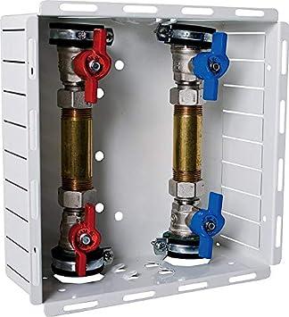 Estación de contador de agua UP contador de agua frío + caja de ...