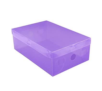 Wicemoon Cajas de Zapatos de plástico Transparente cajón Tipo Zapatos Caja organización