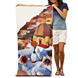 raikay Bath Towel Seaside Pillows Art Painting Filter Patterned Soft Beach Towel 31''x 51'' Towel Unique Design