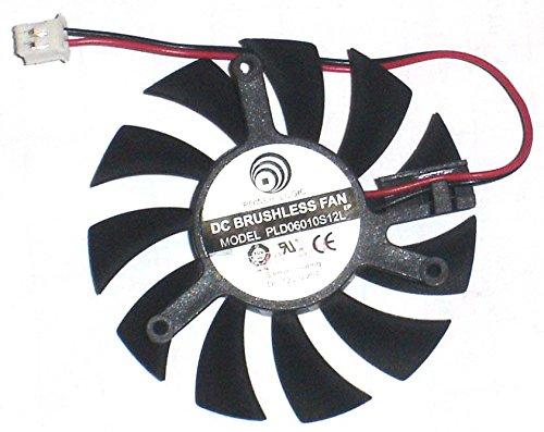 Generic 55/mm Pld06010s12l 12/V 0,2/A 2/fils vid/éo ventilateur 39/* 39/* 39/mm