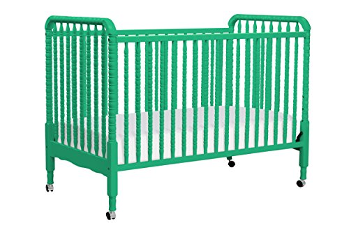 Davinci Jenny Lind 3-in-1 Convertible Crib, Emerald
