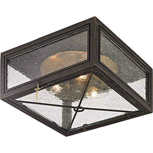 Troy Lighting C6440 Randolph Outdoor Flush Mount Gold by Troy (Image #1)