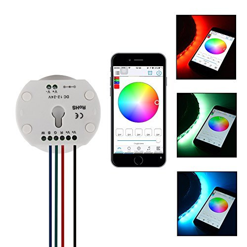 XCSOURCE Bluetooth RGB LED Strip Light Remote Control LD687 (Bluetooth Light Controller)