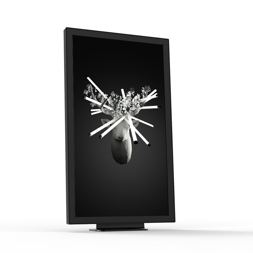 EO1 Digital Art Display, Black. Launched 2015, 1st Generation. by Electric Objects