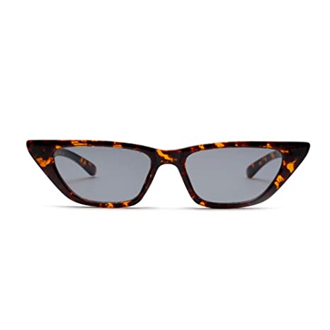 Yangjing-hl CatEye Gafas de Sol Mujer er Gradient Gafas de ...