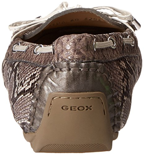 Loafer Grey Geox Smoke Geox D Grey Clelia Womens Penny Womens RRqavx6