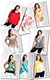 Various Assortment Wholesale Lot 100 Women Clothing Tops Blouses Dresses Bikinis Apparel XL 2XL 3XL