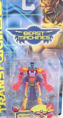 Transformers Beast Machines SILVERBOLT eagle 2000
