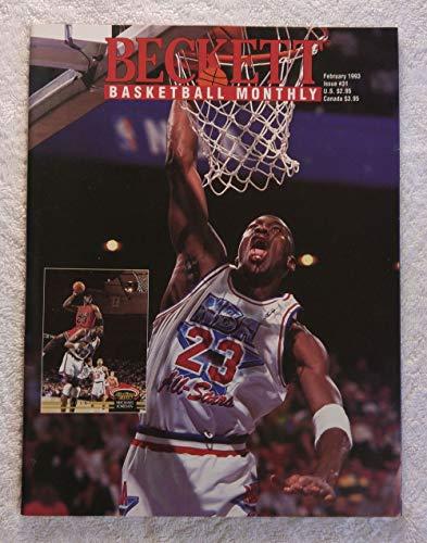 Michael Jordan - Chicago Bulls/NBA All-Star - Beckett Basketball Monthly Magazine - #31 - February 1993 - Back Cover: Walt Williams (Sacremento Kings)