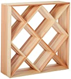 Creekside 120 Bottle Ultimate Wine Cube Rack, 12″ Deep, Redwood