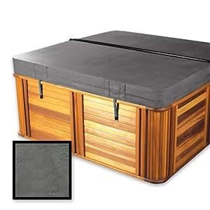 """La cubierta Guy estándar 4""""repuesto Hot Tub Spa, tigre río 86,5x 79x 8"""" Radio esquinas), color marrón o gris"""
