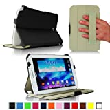 Fintie ClickBook Series Folio Hardback Case with Built-in Stand Auto Wake/Sleep for Samsung Galaxy Note 8.0 inch Tablet GT-N5100 / N5110 - Black