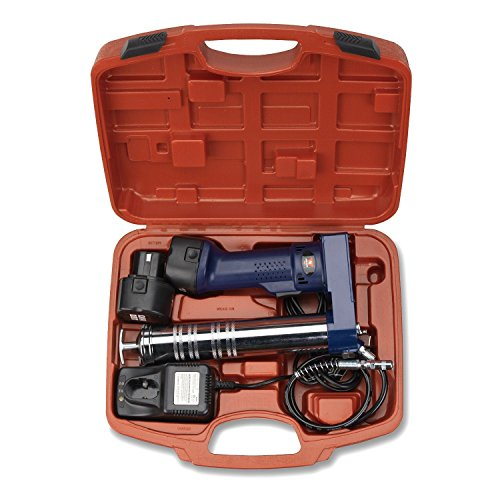 Neiko 12000A 12V Cordless Grease Gun, 6500 PSI | Dual Ni-Cd Rechargeable Batteries Included by Neiko