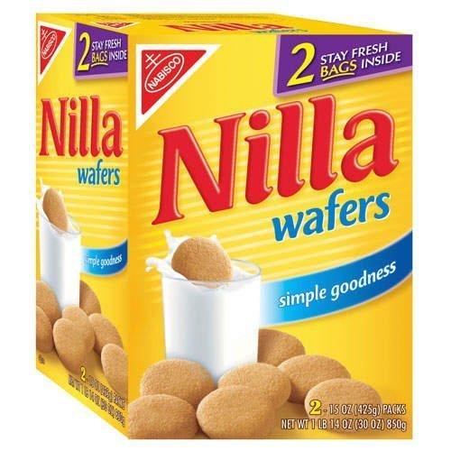 Nabisco Nilla Wafers, 850 gm