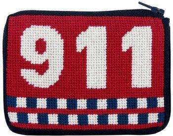 Monedero - 911 Emergencia - Kit de punto de cruz.: Amazon.es ...