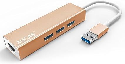 Adaptador RJ45 Ethernet con USB 2.0 / 3.0 a Gigabit Adaptador de ...