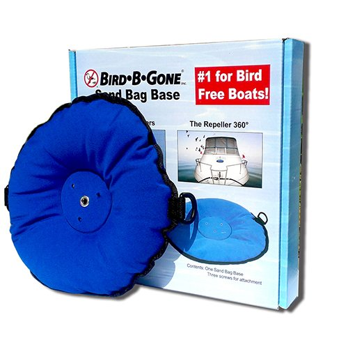 Bird B Gone Bird Spider 360 and Repeller 360 Sandbag Boat Ba