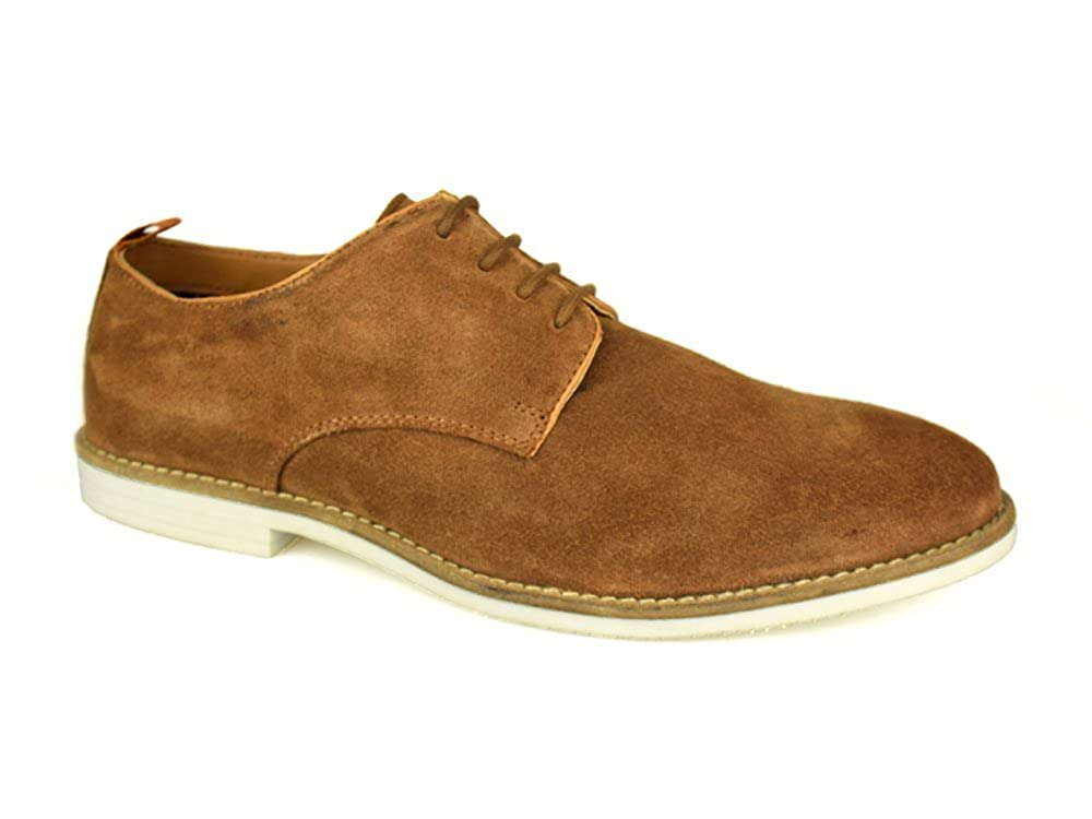 e8d86bd0437 Silver Street London dalston Mens Tan Suede Casual Shoes  Amazon.co.uk   Shoes   Bags