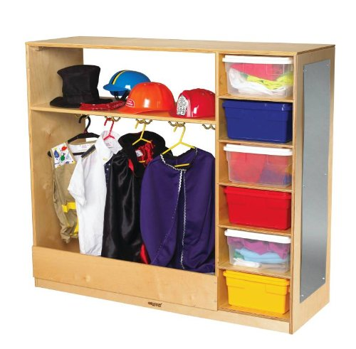 Dress up Storage Unit, All Birch Veneer Panel