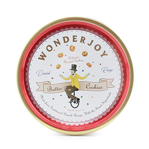Wonderjoy Butter Cookies, 16 oz