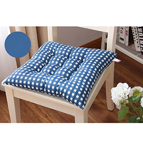 Tootu Indoor Home Kitchen Office Chair Pads Seat Pads Cushion (Blue)