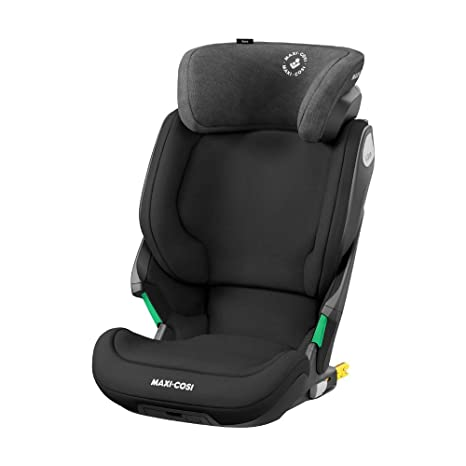 Bébé Confort KORE i-Size Authentic Black - Silla de auto con ISOFIX, homologación i-Size, grupo 2/3, 100-150 cm, 3,5-12 años, color negro