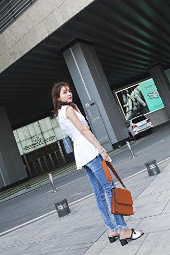 Vestido Y Moda Trabajo Transpirables Ahuecados Carrera Comfort Zapatos De Mujer Pu Sandalias Noche Segundo Fiesta Chanclas Xue pantuflas Summer Caminar Para aZq8SKg