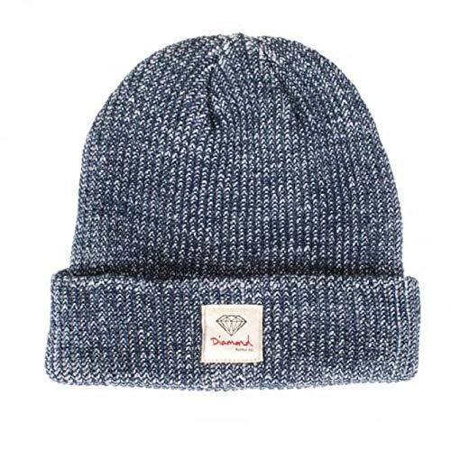 Diamond Supply Co. OG Sign Beanie (Navy Speckle, One Size) (Supply Diamond Co Accessories)