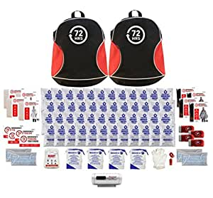 4 Person - 72HRS Backpack Emergency Kit