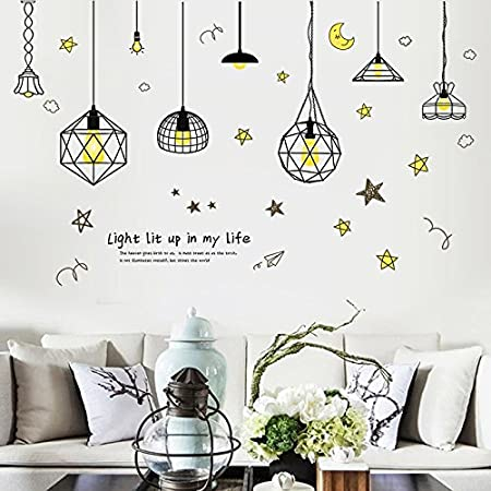 . TIANLU Artistic Wall Stickers More Useful Trend Home Town Paper