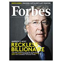 Forbes, October 10, 2011