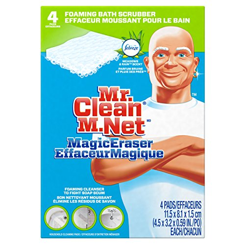 mr clean magic eraser bath scrubber 4 count pack of 2 in uae dubai. Black Bedroom Furniture Sets. Home Design Ideas