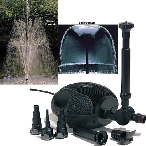 Laguna PowerJet 1500 Electronic Fountain Pump - Foam Laguna Strainer