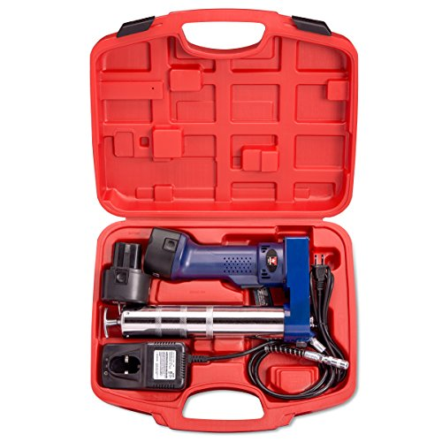 Neiko 12000A 12V Cordless Grease Gun, 6500 PSI | Dual Ni-Cd...