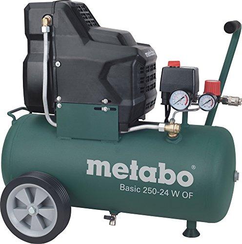 Metabo Kompressor ''Basic 250-24 W OF'' ölfrei 200