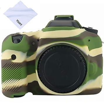 Yisau Canon EOS 80D - Carcasa para cámara réflex Digital Canon EOS ...