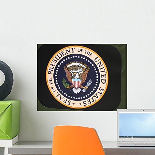 Wallmonkeys Presidential Seal Wall Decal Peel and Stick Graphic WM52379 (18 in W x 14 in H)