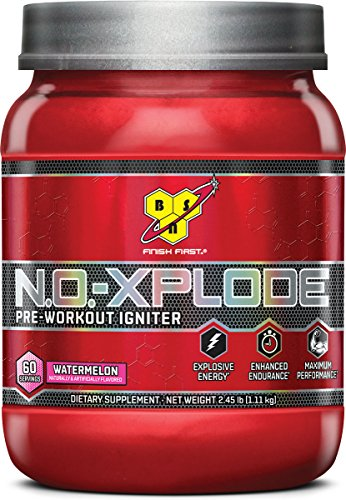N.O-Xplode Watermelon 60 Servings BSN 2.45 lb  Powder