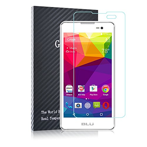 ACdream BLU Advance 5.0 Screen Protector - [2 pack] Premium HD Clear Tempered Glass Screen Protector for BLU Advance 5.0 with 9H Hardness/Scratch Resist - Ultra Clear