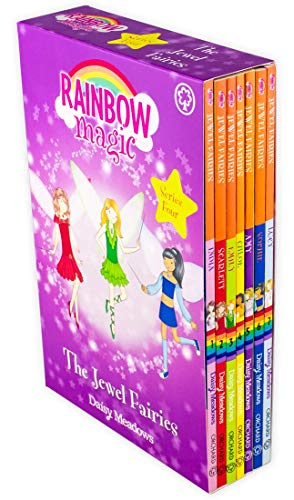 Jewel Magic - Rainbow Magic Jewel Fairies Collection Daisy Meadows 7 Book Set Series 4 (Vol 22 - 28)