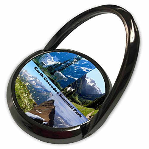 3dRose Sandy Mertens Washington State - Passes, Basin and Peak Montage - North Cascades National Park - Phone Ring (phr_156426_1)