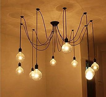 Luminaire 8 ampoules