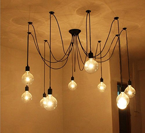 Suspension luminaire ampoule affordable e mtal retro suspensions luminaire lampe industriel - Lustre grosse ampoule ...