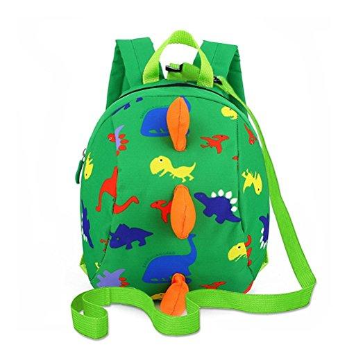 Kids backpack boys, dinosaur children backpack, Anti-lost children backpack, Toddler backpack for school, nursery, kindergarten, cute cartoon backpack for toddler kids boys and girls