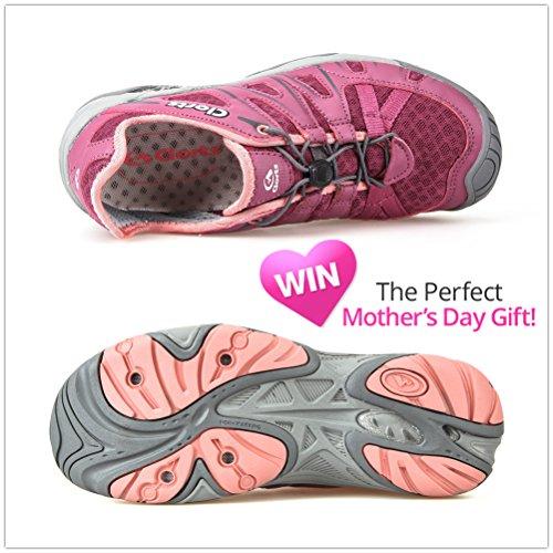 Clorts Women's Water Shoe Closed Toe Quick Drying Hiking Sandal 3H025 Purple cheap sale footaction buy cheap big discount phgz39qMjP